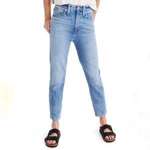 Madewell Women's The Mom High-rise Jeans